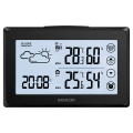 sencor sws 2850 color weather station with wireless temperature and humidity sensor extra photo 3
