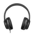 logilink hs0053 stereo headset high quality 35 mm stereo plug black extra photo 1