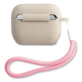 guess silicone case vintage for apple airpods pro grey guacaplsvsgp extra photo 1