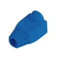 lanberg strain relief rj45 boot cap blue 100 pack extra photo 1
