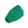 lanberg strain relief rj45 boot cap green 100 pack extra photo 1