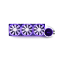 nzxt kraken x73 rgb water cooling white 360mm illuminated fans and pump extra photo 3