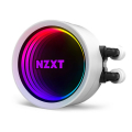 nzxt kraken x73 rgb water cooling white 360mm illuminated fans and pump extra photo 6