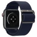 spigen fit lite band for apple watch 4 5 6 7 se 42 44 45 mm navy extra photo 3
