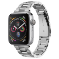 spigen modern fit band for apple watch 4 5 6 7 se 38 40 41 mm silver extra photo 1