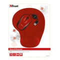 trust 20427 primo mouse with mouse pad red extra photo 4