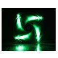 bitfenix spectre 230mm fan green led black extra photo 2