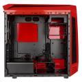 case bitfenix aegis core micro atx red black extra photo 1