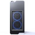 case innovator shell 5 half transparent black extra photo 1