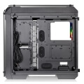 case thermaltake view 71 rgb tempered glass window black extra photo 1