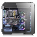 case thermaltake view 71 rgb tempered glass window black extra photo 4