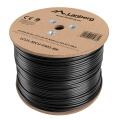 lanberg utp solid outdoor gel cable cu cat5e 305m grey extra photo 1