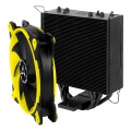 arctic freezer 33 esports one tower cpu cooler with bionix fan yellow extra photo 1