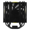 arctic freezer 33 esports one tower cpu cooler with bionix fan yellow extra photo 3