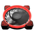 cougar vortex fr 120mm led fan red extra photo 1