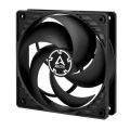 arctic p12 silent fan 120mm black black extra photo 1