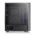 case thermaltake v200 tempered glass rgb edition mid tower chassis black extra photo 4
