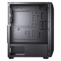 case cougar mx410 mesh g tempered glass side window extra photo 4