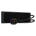 corsair icue h150i rgb pro xt 360mm radiator triple 120mm fans software control liquid cpu cooler extra photo 1