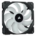 corsair sp140 rgb pro 140mm rgb led fan dual pack with lighting node core extra photo 1