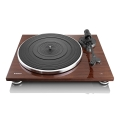 lenco l 88wa slim turntable with usb connection brown extra photo 1