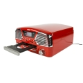 camry cr1134r turntable with cd mp3 usb sd recording red extra photo 1