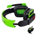 thermaltake esports console one 51 dts gaming headset green extra photo 1