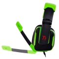 thermaltake esports console one 51 dts gaming headset green extra photo 2
