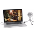 blue snowball ice cardioid condenser microphone white extra photo 3