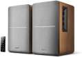 edifier r1280db bluetooth powered bookshelf speakers brown extra photo 1