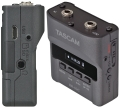 tascam dr 10cs compact digital recorder for sennheiser lavalier microphones extra photo 1