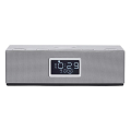 horizon acustico hav p4200 qi wireless clock radio clock radio speakers 20 10w silver extra photo 1