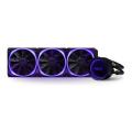 nzxt kraken x73 360mm rgb water cooling rgb fans extra photo 1