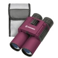 bresser topas 10x25 pocket binoculars red extra photo 2