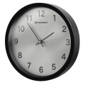 bresser mytime silver edition wall clock black extra photo 3
