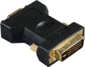 hama 45073 adapter dvi analogue male plug 15 pin hdd female jack extra photo 1