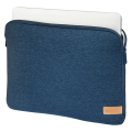 hama 185629 jersey notebook sleeve up to 36 cm 141 blue extra photo 1