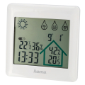 hama 186412 action weather station white extra photo 1