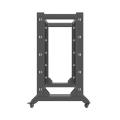 lanberg open rack 22u 600x800 black extra photo 2
