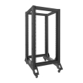 lanberg open rack 19 22u 600x800mm black extra photo 3