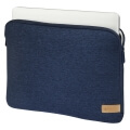 hama 101809 jersey notebook sleeve 116 blue extra photo 2