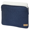 hama 101810 jersey notebook sleeve 133 blue extra photo 2