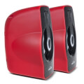 audiocore ac855r computer speakers 20 6w usb red extra photo 1