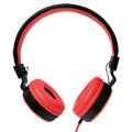 logilink hs0049rd foldable stereo headphone red extra photo 1