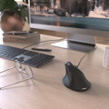 hama 182698 vertical ergonomic emc 500 mouse black extra photo 3