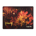logilink id0141 ultra thin glimmer gaming mousepad wolf design extra photo 1