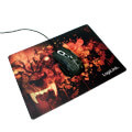 logilink id0141 ultra thin glimmer gaming mousepad wolf design extra photo 3