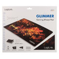 logilink id0141 ultra thin glimmer gaming mousepad wolf design extra photo 4