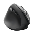 hama 182697 emw 500l vertical ergonomic left handed wireless mouse 6 buttons black extra photo 1