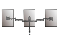 equip 650116 13 27 articulating triple monitor desk mount bracket extra photo 2
